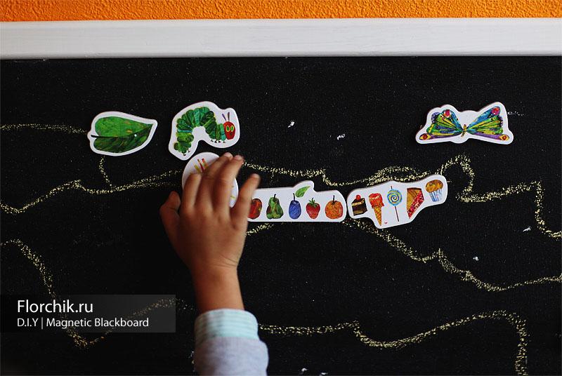 Магнитная доска для ребенка своими руками