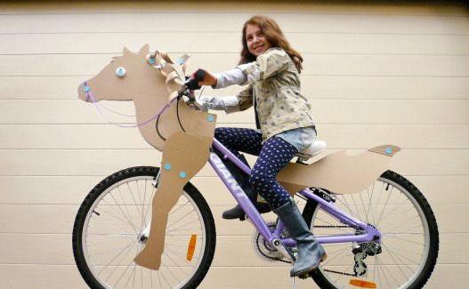 Как украсить велосипед на конкурс велосипедов