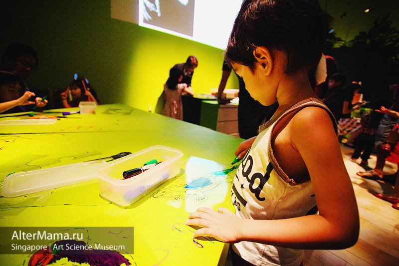 Музей искусства и науки Сингапур поделки в творческих мастерских