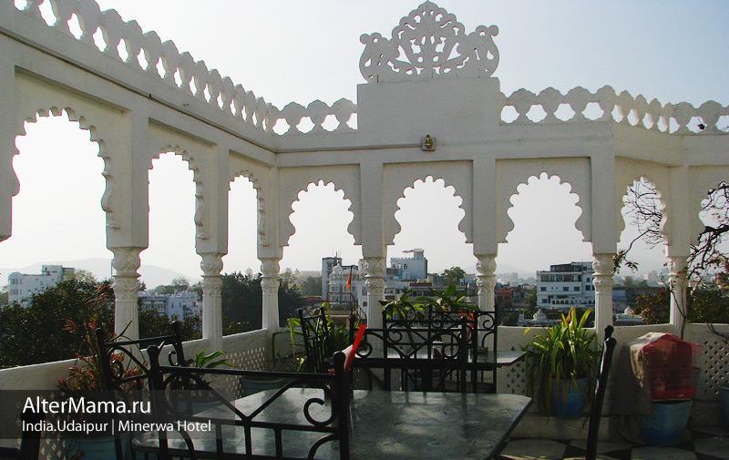 Где остановиться в Удайпуре - отели и гестхаусы. Отель Минерва в центре Удайпура