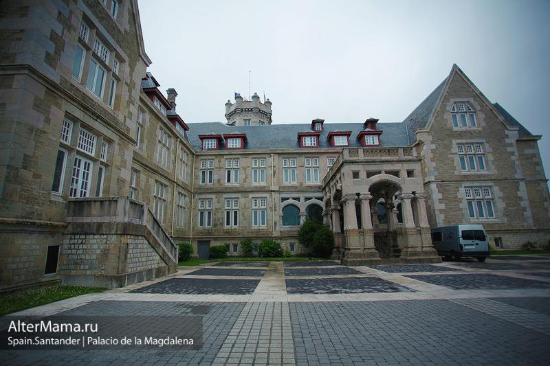 Дворец Ла Магдалена в Сантандере Испания Palacio de la Magdalena