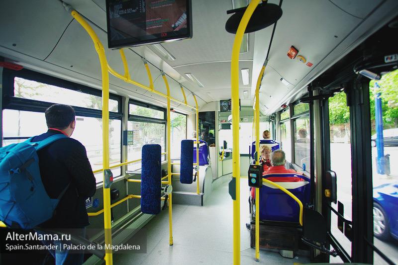 Как добраться на автобусе до дворца Ла Магдалена - экскурсии в Сантандере
