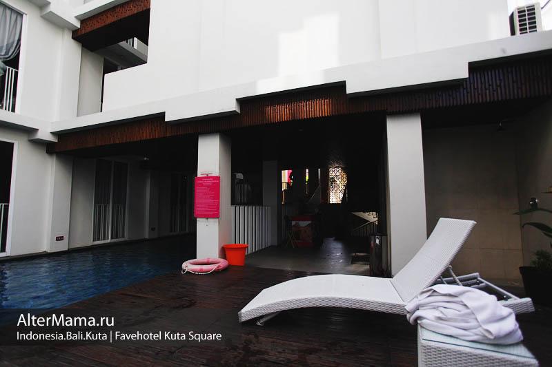 Отели на Бали в Куте - отзыв fave kuta square 3* фото