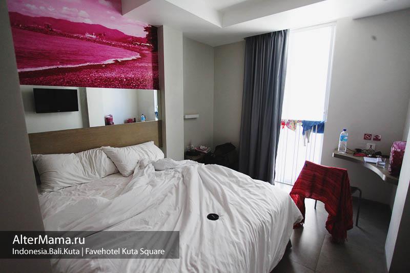 Отели на Бали в Куте - Favehotel kuta square фото