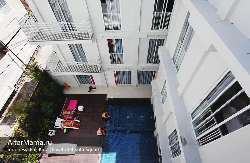 Отели на Бали в Куте - Fave hotel bali