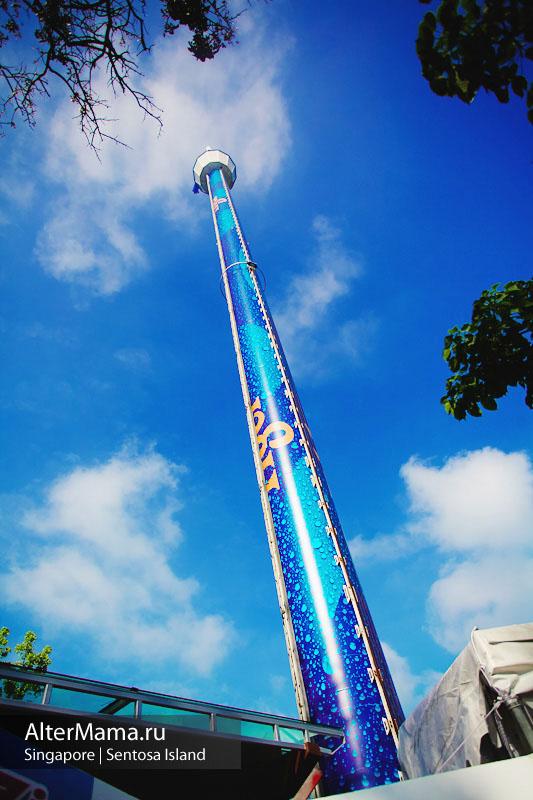 Высокая башня на Сентозе часы работы