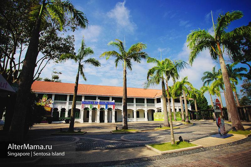 Развлечения на острове Сентоза обзор музеев и цены