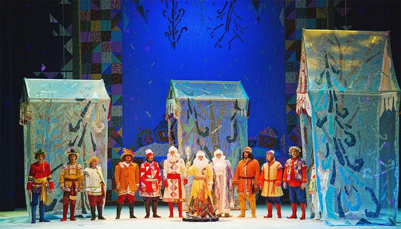 Сказка 12 месяцев театр оперы для детей