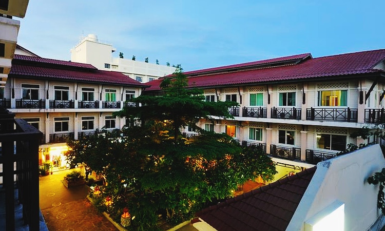 Отели Бангкока на карте. Недорогие отели на Каосан Роад.