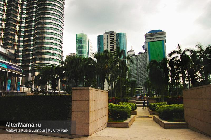 Городской парк Куала Лумпур KL City Park