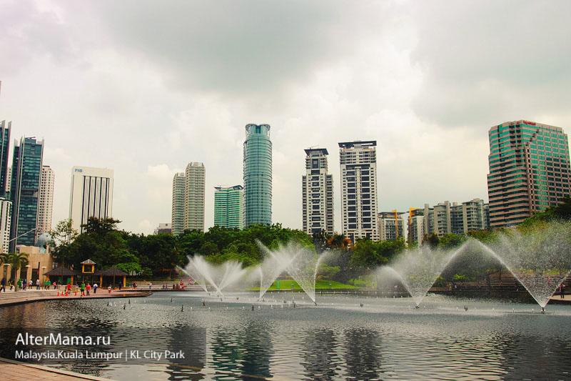 Парки Куала Лумпур где Башни Петронас