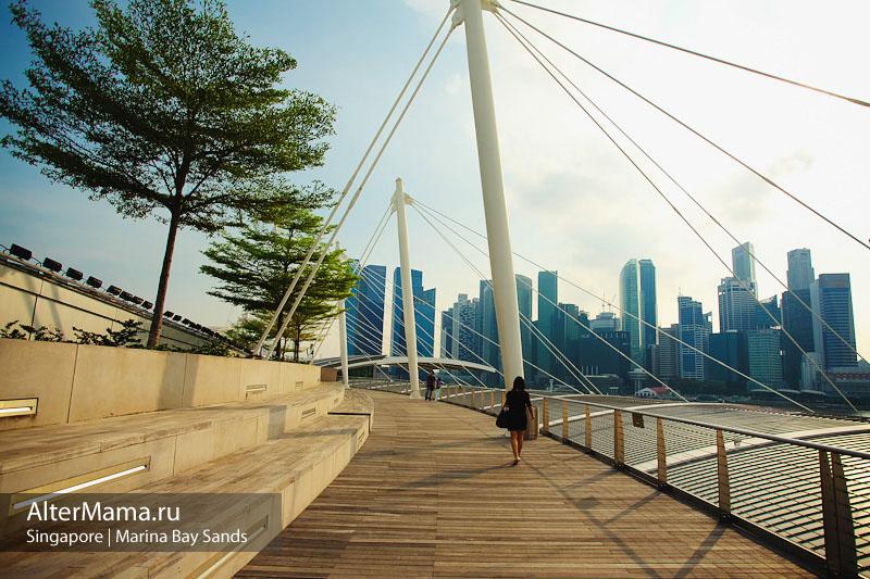 Отель Marina Bay Sands Singapore отзыв с фото