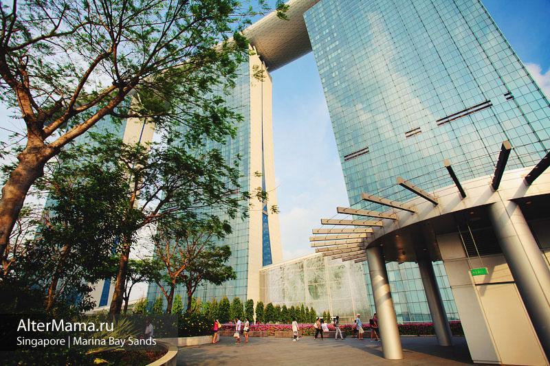 Сингапур отель Марина Бэй Сэндс цена номера