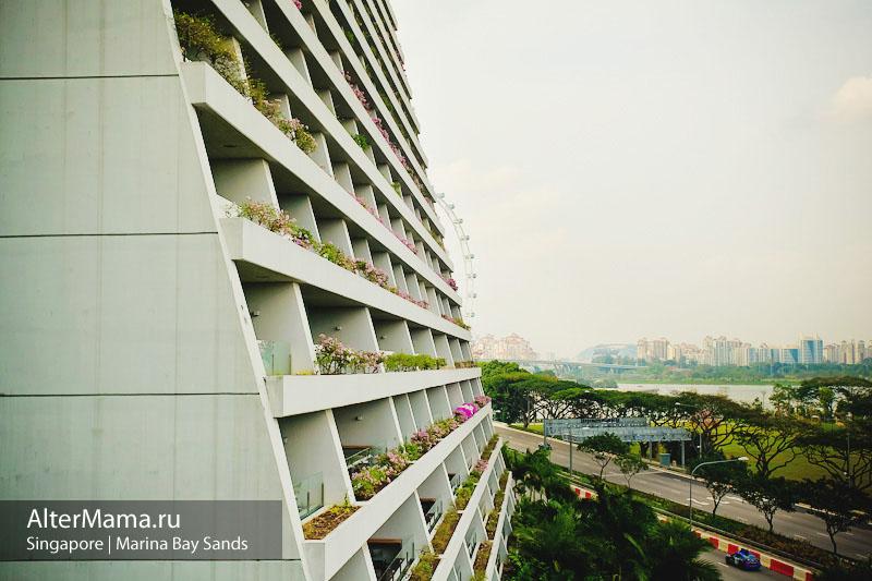 Marina Bay Sands hotel фото