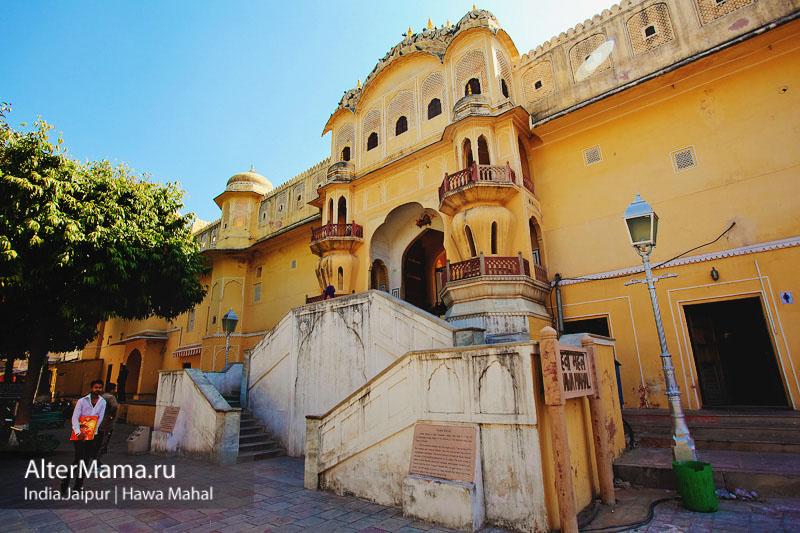 Хава-Махал Дворец ветров в Джайпуре