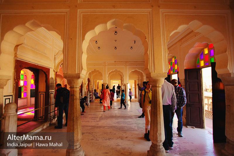 Hawa Mahal Дворец ветров в Джайпуре