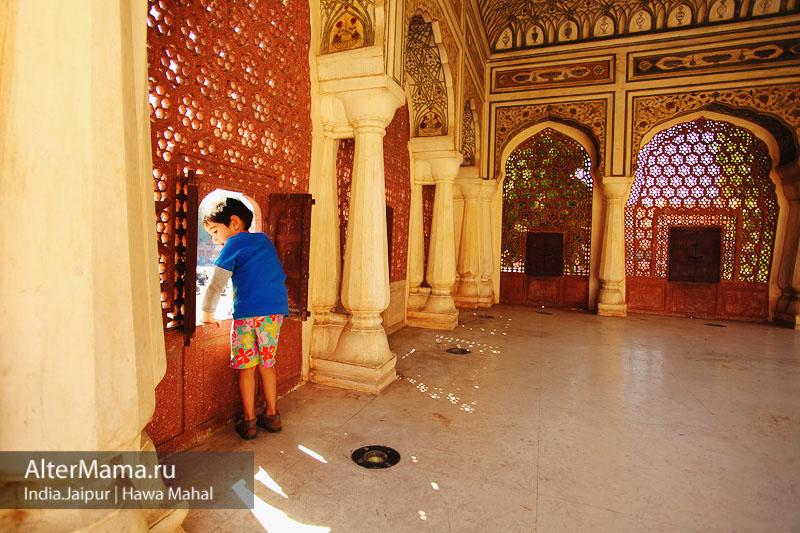 Где находится Дворец ветров Hawa Mahal