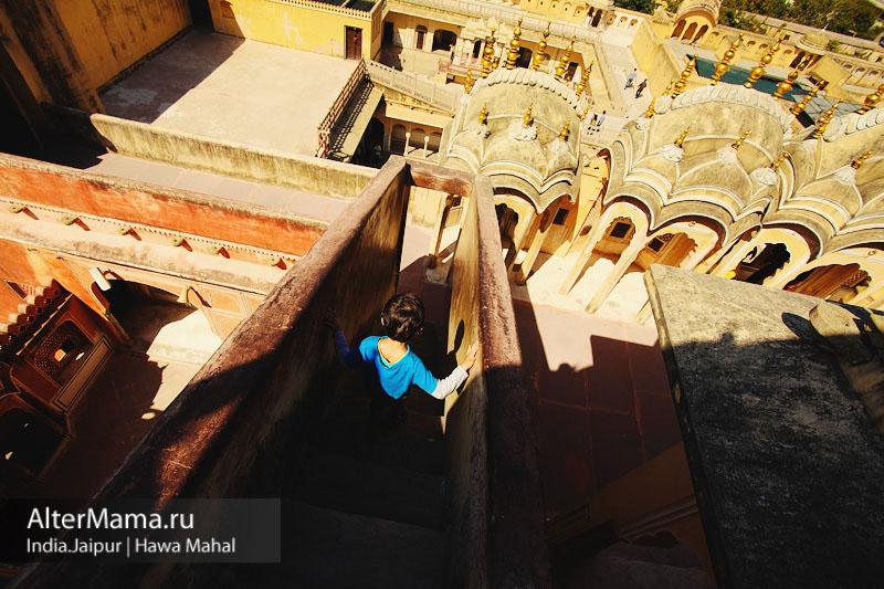 Эскурсии по Джайпуру - Дворец ветров Хава Махал