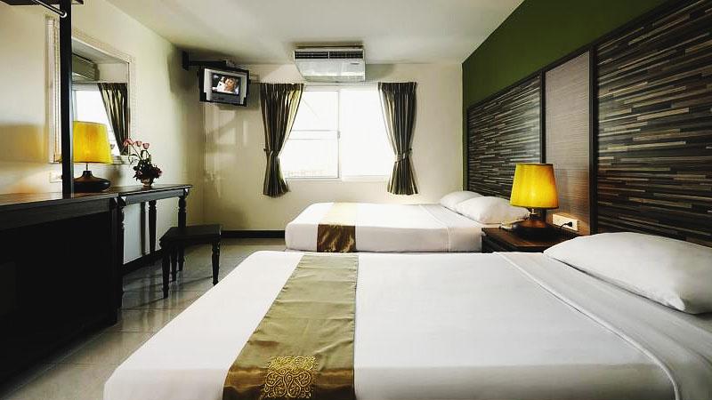 Найти недорогие отели Бангкока на карте