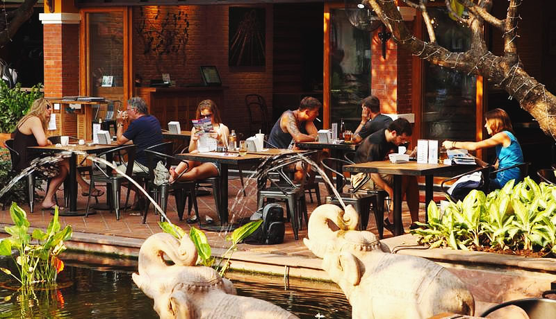 Дешевые отели Бангкока на карте