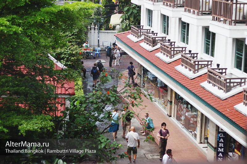 Отели Бангкока на карте в центре
