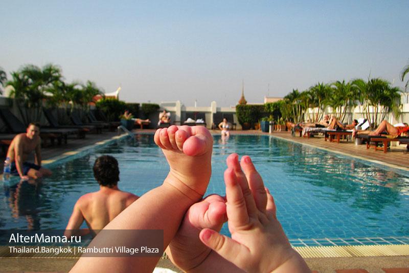 Отели Бангкока на карте.