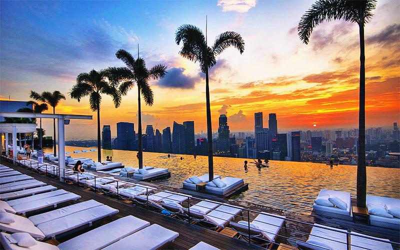 Недорогие отели Сингапура на карте