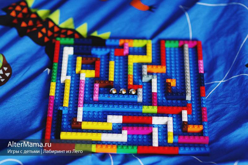 Что собрать из Лего инструкции - увлекательный лабаринт
