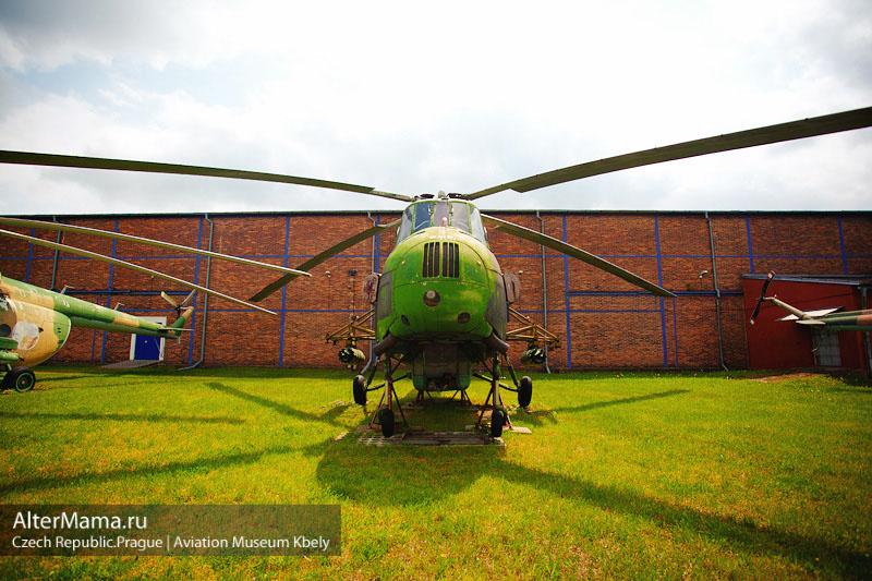 Бесплатный музей авиации Прага