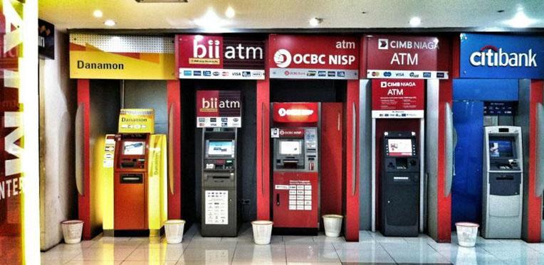 Банкоматы Бали с наименьшей комиссией