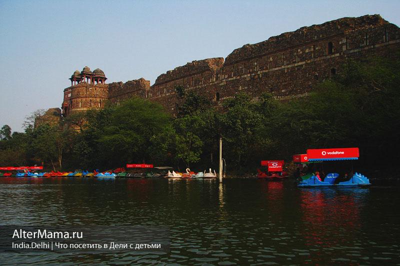Пурана Кила Дели Purana Qila крепость
