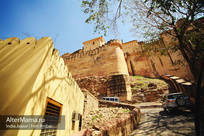 История форт Амбер Индия