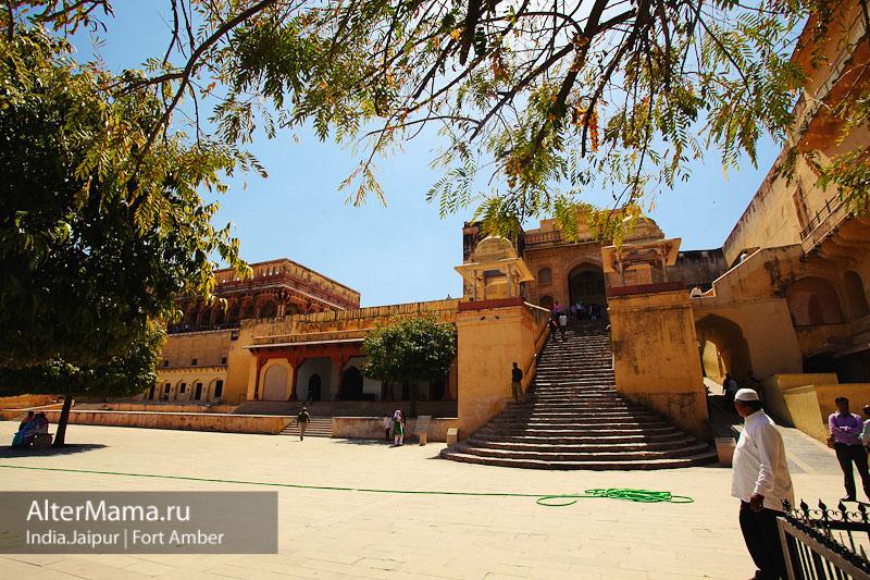 Потаенные уголки джайпурского форта Амбер