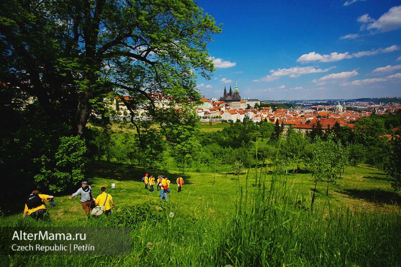 Петршинская башня Прага
