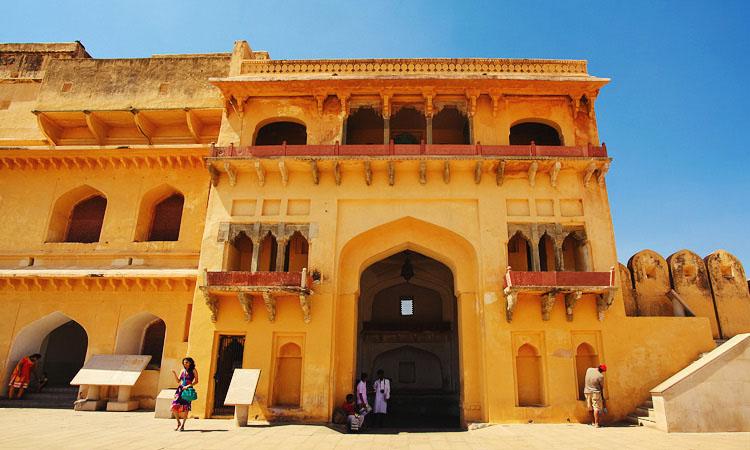 Форт Амбер Джайпур Раджастан