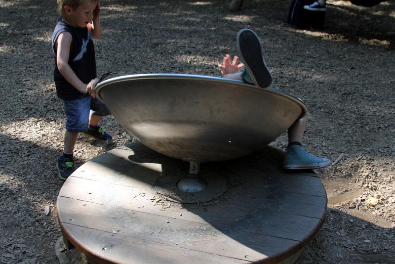 Детская площадка нескучный сад как найти