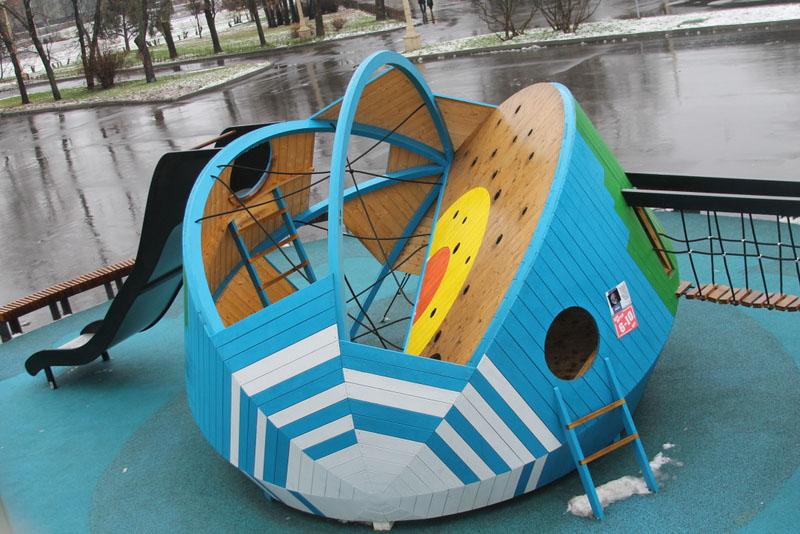 Детская площадка Космос
