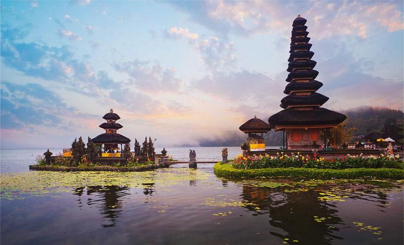 Как найти храмы Бали карта Улун Дану Братан