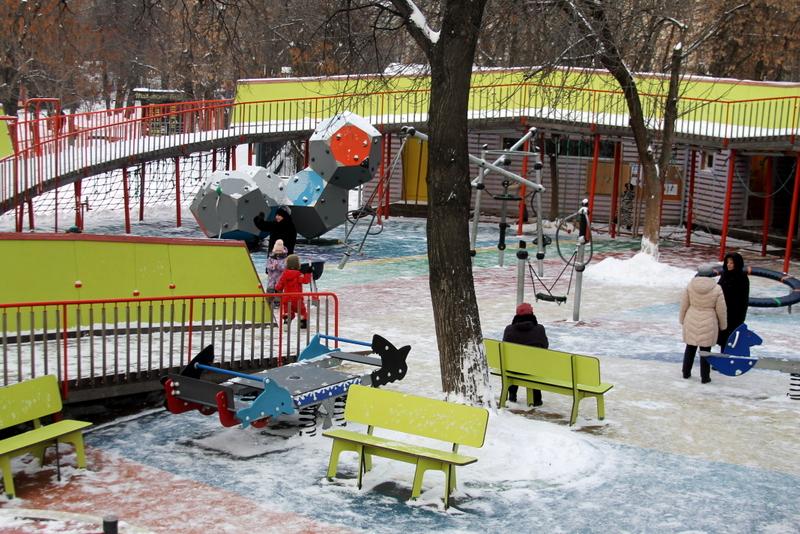 детская площадка сад баумана