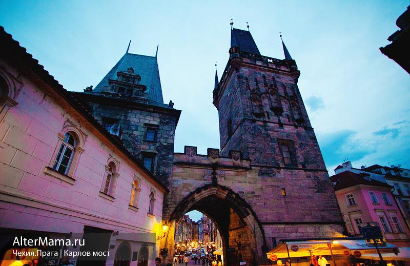 История Карлов мост Прага Чехия