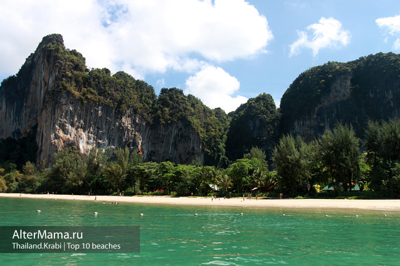Описание пляжей Краби Таиланд и какой выбрать пляж ребенку