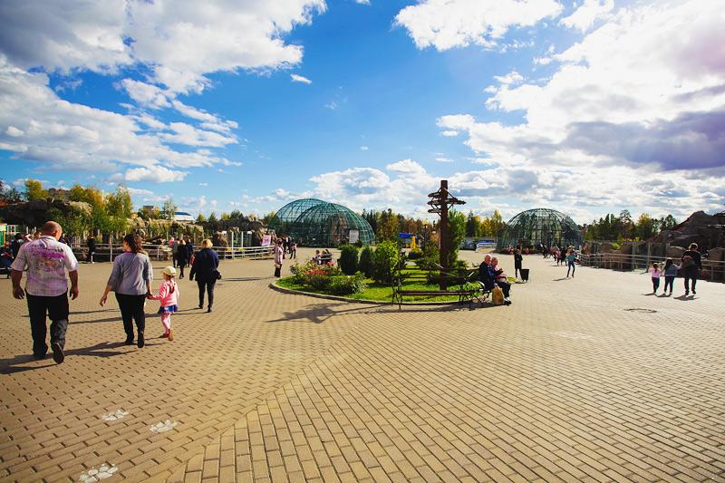 Шоу зоопарк Удмуртии животные