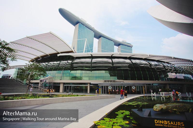 Прогулка по Марина Бэй Сингапур