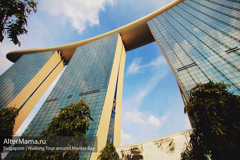 Отзыв про отель Marina Bay Sands в Сингапуре