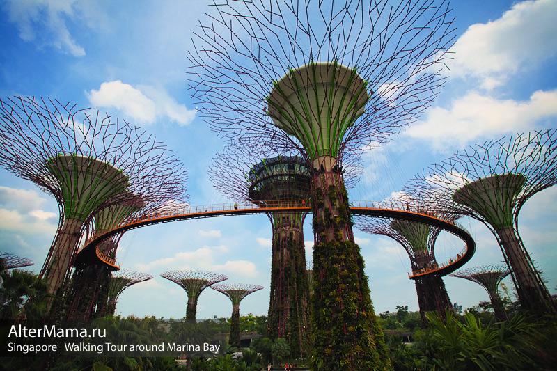 Составляем маршрут по Сингапуру