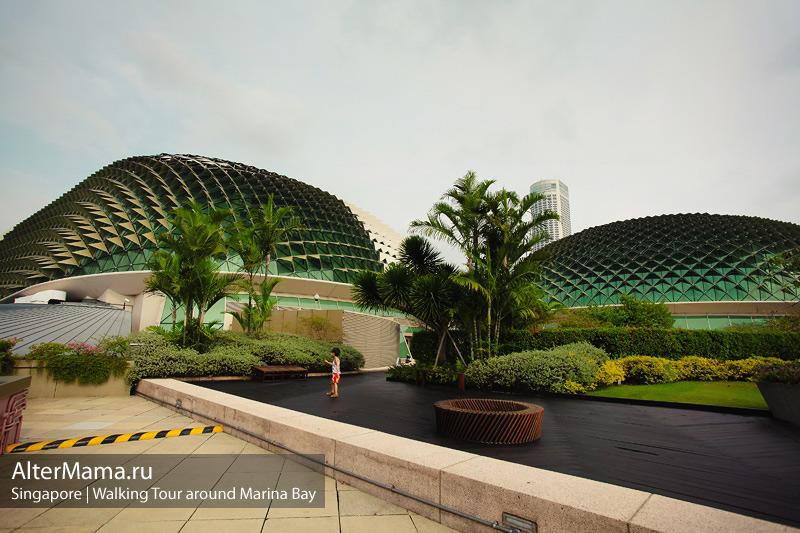 Как посетить театр в форме Дуриана в Сингапуре