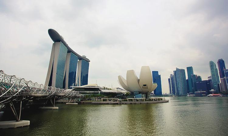 Пеший маршрут по Марина Бэй Сингапур - отзыв о достопримечательностях Marina Bay