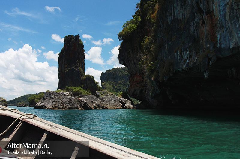 Как доехать на пляж Рейли Таиланд самостоятельно
