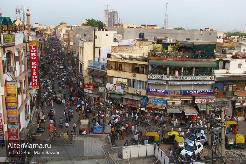 Самые удобные и дешевые способы доехать с вокзалов и из аэропорта Дели до Мейн Базара на метро.