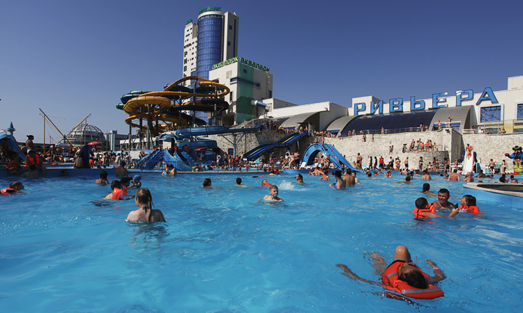 Аквапарк Ривьера в Казани — фото, отзыв, цены 2017, квартиры рядом